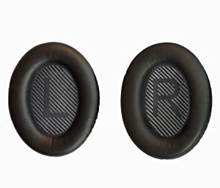 Bose Headphones Ear Pads Replacement Comfortable Noise Isolation Compatible for Bose QC35,QuietComfort 35II,QC25,QC15,QC2,AE2, AE2I, AE2W SoundTrue/SoundLink Around-Ear (Black)