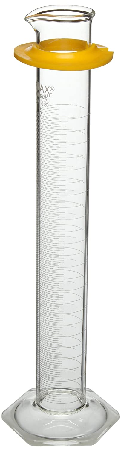 Fees free Kimax 20028W-250 Glass Class A Cylinder White and Portland Mall with Rev Scale
