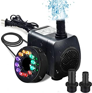 Best submersible pump with led light Reviews