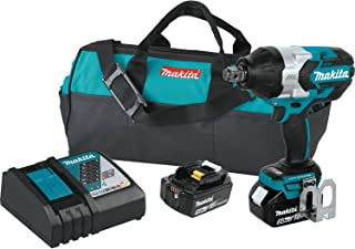 """Makita XWT07Z LXT Lithium-Ion Brushless Cordless High Torque Square Drive Impact Wrench, 18V/3/4"""""""