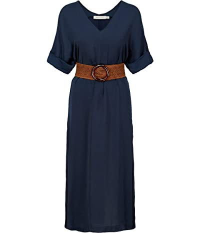 Bishop + Young Balinese Belted Dress (Navy) Women
