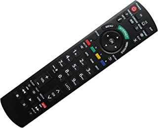 Hotsmtbang Replacement Remote Control with Netflix APP Button for Panasonic CT-27SX12AUF CT-27SX12D CT-27SX12F EUR7737Z40 EUR7737Z10 CT-27SX12MF CT-27SX12UF CT-32C8 EUR7737Z20 Viera LED HDTV TV
