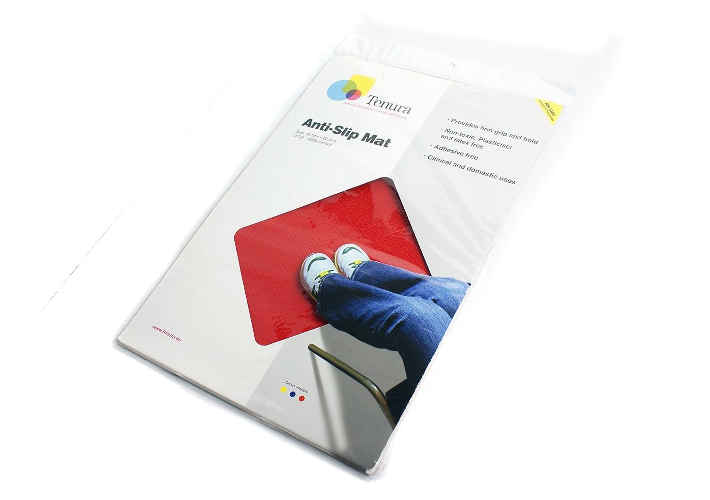 SP Ableware Tenura 100 Percent Silicone Non-Slip Floor Mat, 23.5
