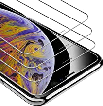 UNBREAKcable Screen Protector for iPhone Xs Max, Screen Protector for iPhone 11 Pro Max [3-Pack], 9H Hardness Tempered Glass, Case Friendly, Anti-Bubbles, Free Installation Frame, (Not Edge to Edge)