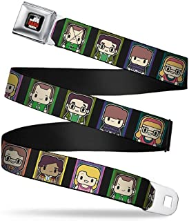 Buckle-Down Boys Seatbelt Belt The Big Bang Theory Wbbt043