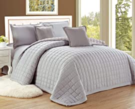 Moon Compressed Two-Sided Color 4 Pieces Comforter Set, Twin-Single Size, Si-Si, Mixed Material