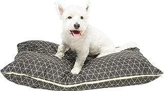 MOG & BONE Futon Dog Bed Pitch Triangle Print Small
