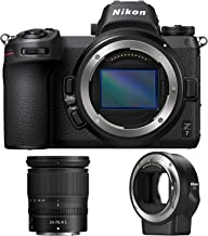 Nikon Z7 45.7MP FX-Format 4K Mirrorless Camera with NIKKOR Z 24-70mm f/4 + FTZ Mount Adapter