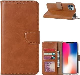 iPhone 11 Pro Pro Max Xs Max Xs XR Slim Wallet Case Premium Folio Case (Coffee-iPhone11ProMax, iPhone11 Pro Max)