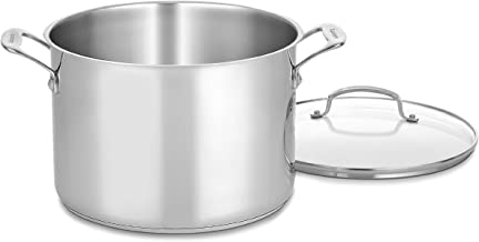 10 quart stock pot with lid
