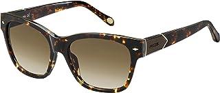 فوسيل نظارة شمسية نمط مربع للنساء - FOS 2040/S-YAA55S8-55-17-140mm