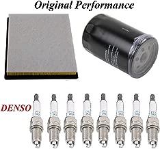 Tune Up Kit Air Oil Filters Spark Plug FIT DODGE DURANGO V8; 4.7L 2004-2007