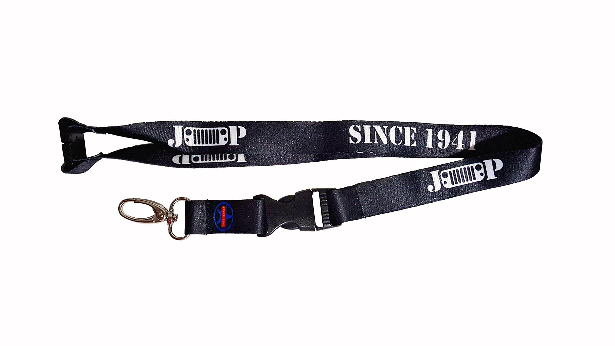 Since 1941 Lanyard Keychain Holder