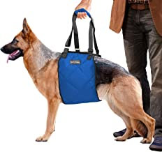 Fur E. Frenz Dog Lift Harness Sling   ACL Brace for Rear Leg Support of Old K9   Help Em Up Carrier Knee Limping Joint Hip Injuries Arthritis Poor Mobility Veterinarian Approved