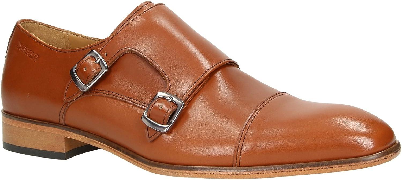 Zweigut® -Hamburg- smuck #257 Schuhe Monkstrap Herren Double Monk-Strap Leder Schuh Business Shoe Slipper B07GB4K2ZV  | Neue Produkte im Jahr 2019