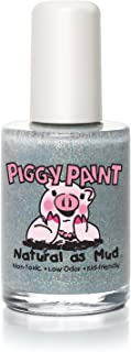 Piggy Paint 100% Non-toxic Girls Nail Polish - Safe, Chemical Free Low Odor for Kids, Glitterbug - Great Stocking Stuffer ...
