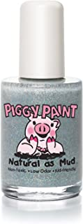 Piggy Paint 100% Non-toxic Girls Nail Polish - Safe, Chemical Free Low Odor for Kids, Glitterbug