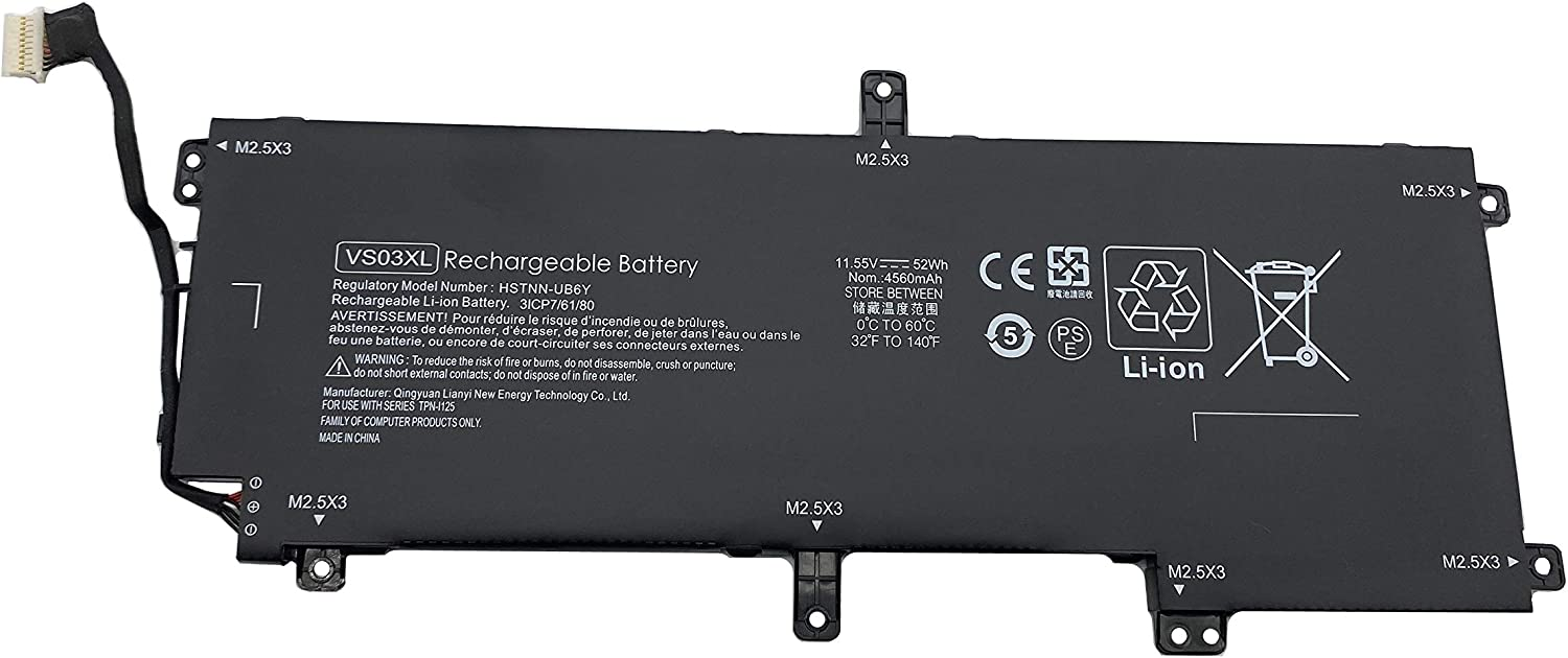 ENHONGFENG VS03XL 11.55V Seasonal Wrap Introduction Free shipping 52Wh Replacement Laptop HP for Battery