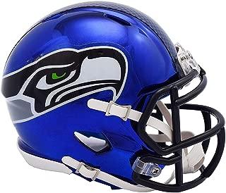 Riddell Seattle Seahawks Chrome Alternate Speed Mini Football Helmet - NFL Mini Helmets
