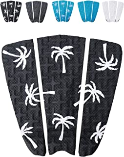 Ho Stevie! Premium Surfboard Traction Pad [Choose Color] 3 Piece, Full Size, Maximum Grip, 3M Adhesive, for Surfing or Skimboarding