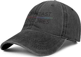 CVEWDFVFD Unisex Cowboy Popular Cotton Caps Low Profile Running Denim Hat