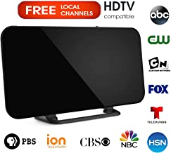 Digital Livewave TV Antenna for Indoor - HDTV Antenna with Amplifier Signal Booster for 4K HD Local Channels with Coaxial Cable Ultra High Definition TVs (Granny's)