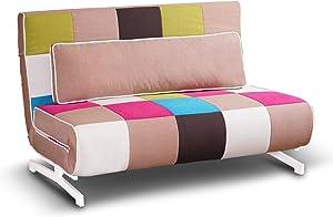 Tuoni Super divanoletto, Metallo, Multicolore, 140x75x88 cm