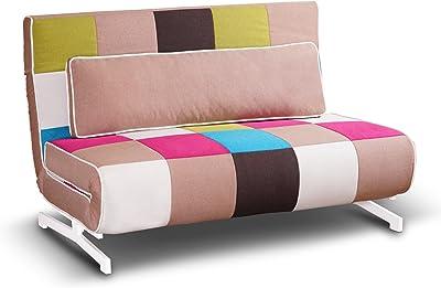 Tuoni Super divanoletto, Metallo, 140x75x88 cm, multicolore