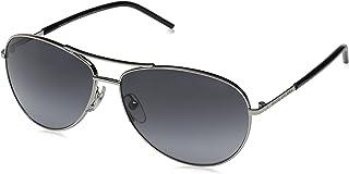 Marc Jacobs MARC59/S Aviator Sunglasses, Palladium Black/Gray Gradient, 59 mm