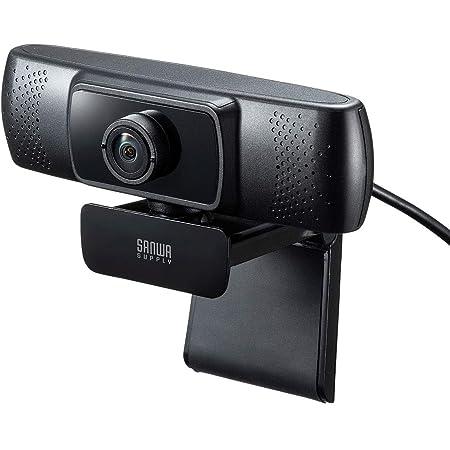 サンワサプライ 会議用ワイドレンズWEBカメラ USB接続 150°超広角 マイク内蔵 Skype対応 ブラック CMS-V43BK