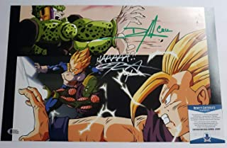 Television Dameon Clarke Perfect Cell Autographed Photo 8x10 Signed Bas Coa 90 Dragon Ball