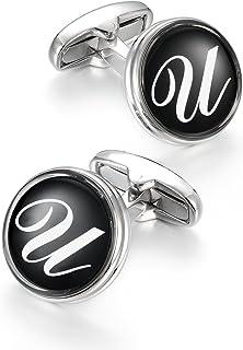 Merit Ocean Gemelos Button Cover 15MM Jewelry Esmalte Redondo Cubierta de Botones Gemelos Sustituto a Los Tradicionales Gemelos para Camisa