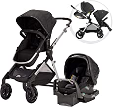 Best Pivot Xpand Modular Travel System with SafeMax Infant Car Seat, Stallion Black Review