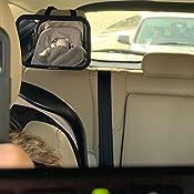 Espejo de coche para beb/é PANGHU para monitor de vista trasera del asiento trasero:vista amplia s/úper clara con acr/ílico de 360 grados Pivote giratorio:100/% inastillable y estable:ajuste universal