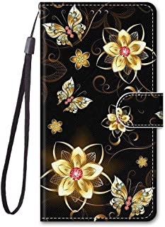 För Meizu M6T/Meiblue 6T/Meilan 6T fodral PU-läder skydd söt målad kortplats plånbok flip fodral (a15)