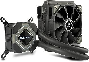Enermax Liqmax II 120S Procesador Enfriador - Ventilador de PC (Procesador, Enfriador, Socket AM2, Socket AM3, Socket AM3, Socket AM3+, Socket FM1, Socket FM2, Socket FM2+, LGA 1151..., 500 RPM, 2000 RPM, 16 dB)