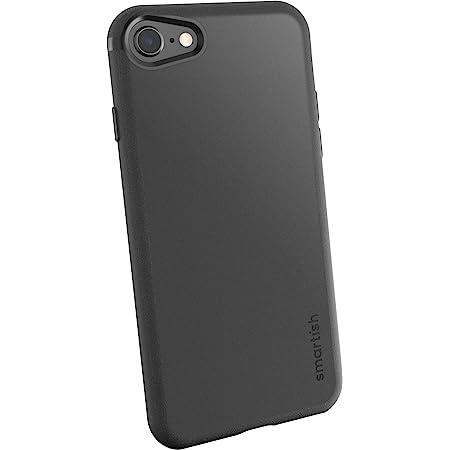 Smartish iPhone 7/8/SE (2020) Slim Case - Gripmunk [Lightweight + Protective] Thin Cover for Apple iPhone SE 2020 & iPhone 7/8 - [Silk] - Black Tie Affair