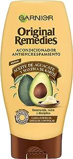 Garnier Original Remedies Champú con Aceite de Aguacate y Manteca de Karité, para Pelo Rebelde y Escrespado - 250 ml