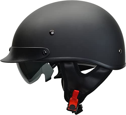 Vega Helmets Half Size Warrior Motorcycle Helmet