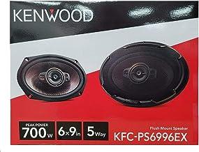 $59 » Kenwood KFC-PS6996EX Performance 6x9 INCH 5-Way 700W Car Audio Speakers (Renewed)