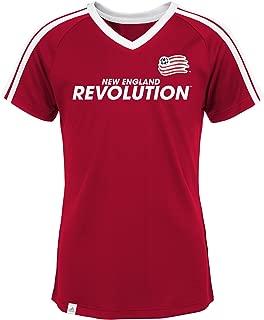 5-6 MLS by Outerstuff Boys War Paint Logo Short Sleeve Tee Kids Medium Ponderosa