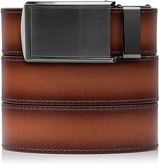 SlideBelts Full Grain Leather Belt - Custom Fit