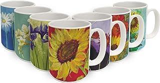 Sunflower Prima Donna 15 oz. Ceramic Coffee Mug