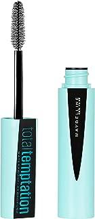 Maybelline New York Makeup Total Temptation Waterproof Mascara, Waterproof Mascara, Very Black, 0.3 fl oz