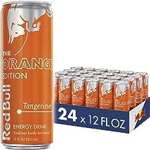 Red Bull Energy Drink, Tangerine, 24 Pack of 12 Fl Oz, Orange Edition
