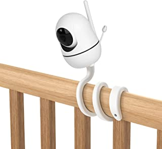 Aobelieve Flexible Twist Mount for HelloBaby HB65, HB66, HB248, and ANMEATE SM935E Baby Monitor Camera