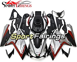 Sportfairings Red Silver Motorcycle Body Kits Injection ABS Fairing Kits For Aprilia RS4 125 RS125 2006-2011 Year 06 07 08 09 10 11