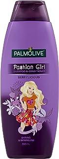 Palmolive Fashion Girl Shining & Detangling Shampoo & Hair Conditioner Berrylicious 350mL