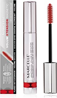 Marcelle Volum'Xtension Magnetic Mascara, Black, Hypoallergenic and Fragrance-Free, 0.28 fl oz