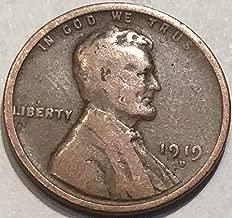 1919 d penny